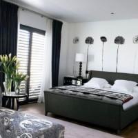 дизайн комнаты в черно белых тонах фото 39