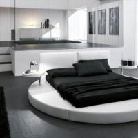 дизайн комнаты в черно белых тонах фото 6
