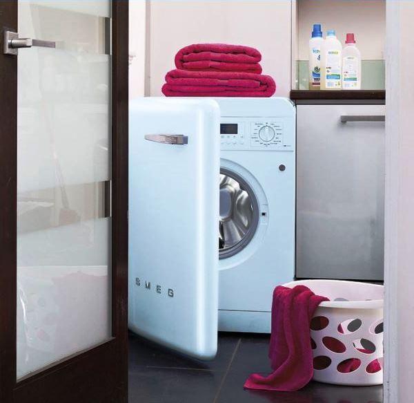 дизайн ванной комнаты со стиральной машиной фото 2