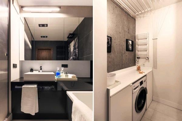 дизайн ванной со стиральной машиной фото