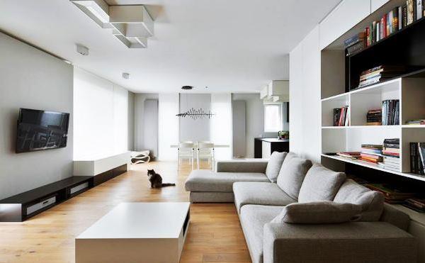 фото дизайна белой гостиной