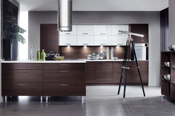 фото кухонного гарнитура цвет венге