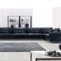 кожаный угловой диван фото 10