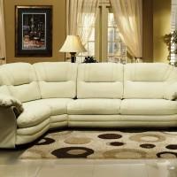 кожаный угловой диван фото 15