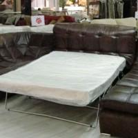 кожаный угловой диван фото 16