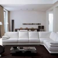 кожаный угловой диван фото 20