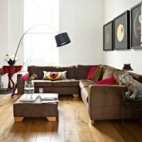 кожаный угловой диван фото 24