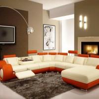 кожаный угловой диван фото 25
