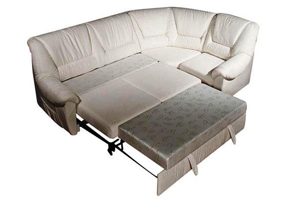 кожаный угловой диван фото 5