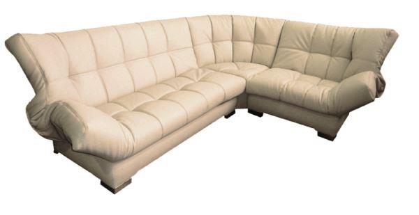 кожаный угловой диван фото 6
