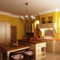 кухня в бежево коричневых тонах фото 12