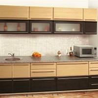 кухня в бежево коричневых тонах фото 16