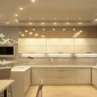 кухня в бежево коричневых тонах фото 2