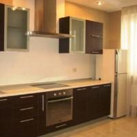 кухня в бежево коричневых тонах фото 7