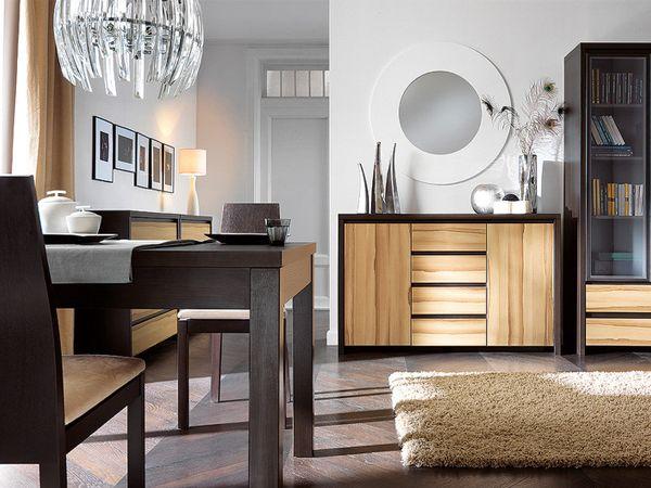 мебель венге в интерьере гостиной фото
