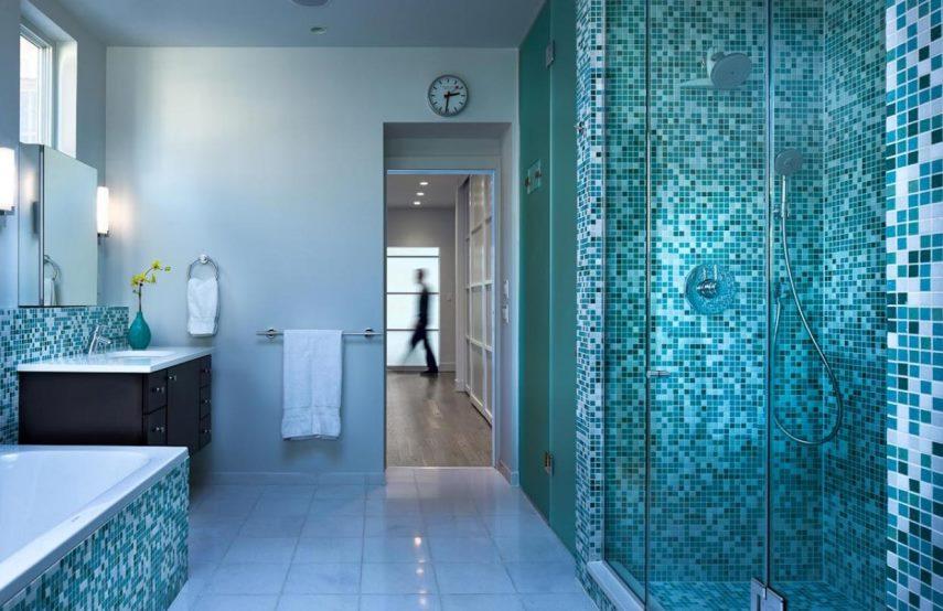 ремонт ванной мозаикой