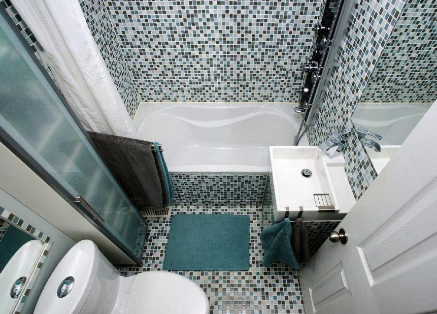 ванна из мозаики фото