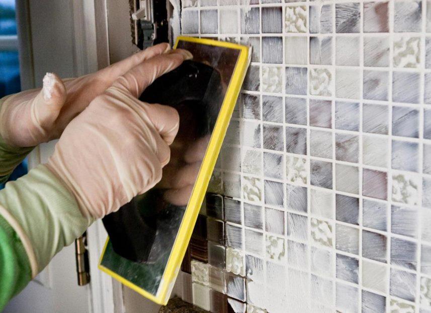 отделка ванной мозаикой фото 2