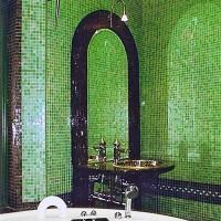 мозаика в ванной дизайн фото 16
