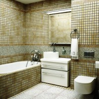 мозаика в ванной дизайн фото 17