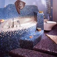 мозаика в ванной дизайн фото 18