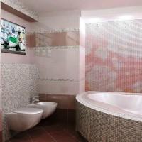 мозаика в ванной дизайн фото 20