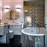 мозаика в ванной дизайн фото 22