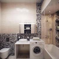 мозаика в ванной дизайн фото 26