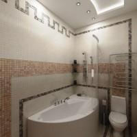 мозаика в ванной дизайн фото 3