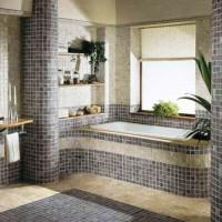 мозаика в ванной дизайн фото 33