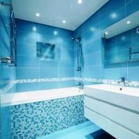 мозаика в ванной дизайн фото 34