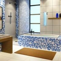 мозаика в ванной дизайн фото 35
