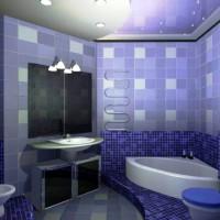 мозаика в ванной дизайн фото 38
