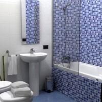 мозаика в ванной дизайн фото 39