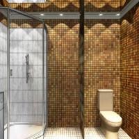 мозаика в ванной дизайн фото 40