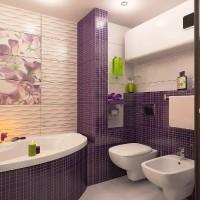 мозаика в ванной дизайн фото 8