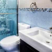 мозаика в ванной дизайн фото 9