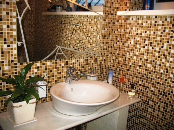 мозаика в ванной комнате хрущевка дизайн фото