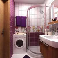 плитка для маленькой ванной комнаты дизайн фото 10