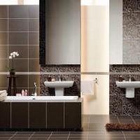 плитка для маленькой ванной комнаты дизайн фото 12
