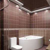 плитка для маленькой ванной комнаты дизайн фото 13