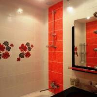 плитка для маленькой ванной комнаты дизайн фото 14