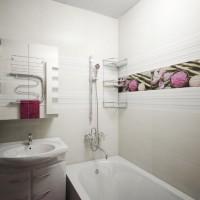 плитка для маленькой ванной комнаты дизайн фото 15
