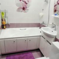 плитка для маленькой ванной комнаты дизайн фото 19