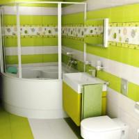 плитка для маленькой ванной комнаты дизайн фото 22