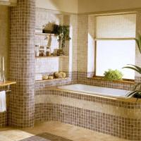 плитка для маленькой ванной комнаты дизайн фото 24