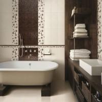 плитка для маленькой ванной комнаты дизайн фото 25