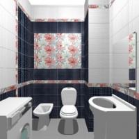 плитка для маленькой ванной комнаты дизайн фото 27