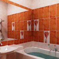плитка для маленькой ванной комнаты дизайн фото 3