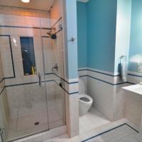 плитка для маленькой ванной комнаты дизайн фото 8